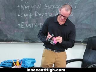 InnocentHigh- Curvy Older Teacher Fucks Student