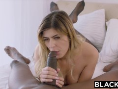 Picture BLACKED Arab girl loves bbc and gets a deep...