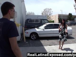RealLatinaExposed - Sophia loves a big cock sliding between her big titsd