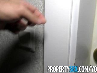 PropertySex - Hot Spainish babe fucks American dude looking for flat to rent
