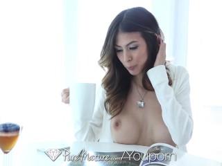 PureMature - Heather Vahn gets her milf pussy fucked