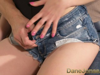 DaneJones Blonde teen nymph has a tight and wet pussy for you