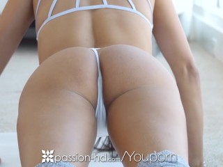 Passion-HD - Anissa Kate enjoys anal after sexy yoga workout