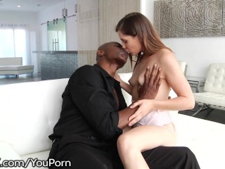 Cute Teen Casey Warner wants Big Black Cock