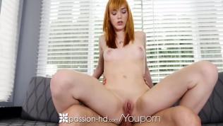 Passion-HD - Redhead Anny Aurora sensual morning bath anal