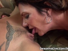 Picture Mature Milf Deauxma call Lesbian Escort to C...