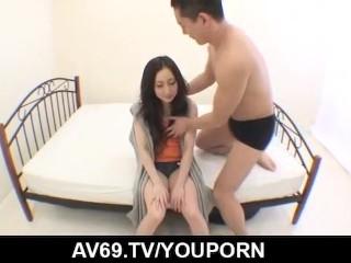 Hot Noeru Fujiki likes handling cock in very hard way