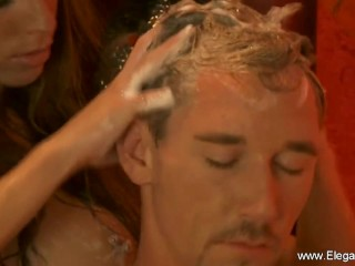 Romantic/milf/the massage ever golden handjob