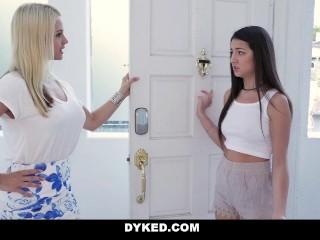 Dyked - Cute Lesbian Teen Fucked by Hardcore Milf