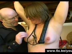 Picture Estelle tied and anal fucked
