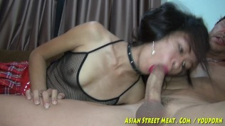 Asian Street Meat XXX  Meaty Asian Vulva Begs For Cock Up Botty