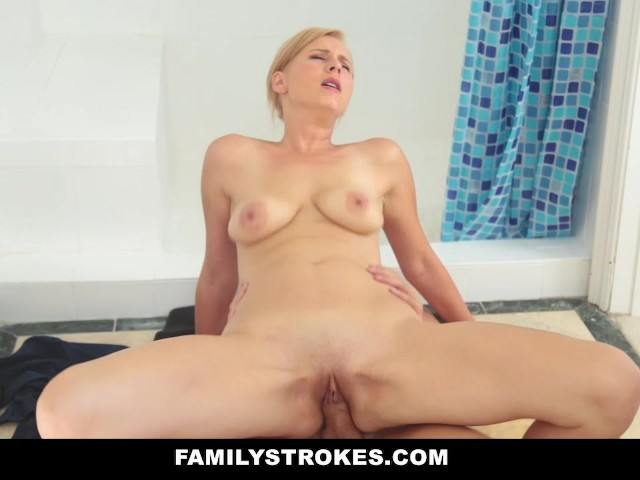 Step Mom Fucks Son Workout