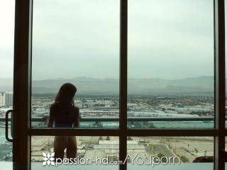 Passion-HD - Natasha White and girflriend Asha Marie fucked in threesome