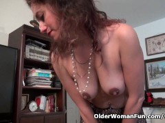 Picture Milf Serena Cruz will let you enjoy her hard...