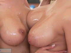 Picture Fitness Rooms Big boobs lesbians have rampan...