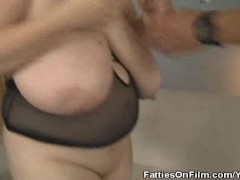 Picture BBW April Mackenzie Gets A Cock Stuffing