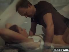 Picture Bondage slave babe bdsm fetish with swallow
