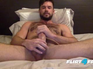 Mike De Marko Jerks His Huge Porn Cock