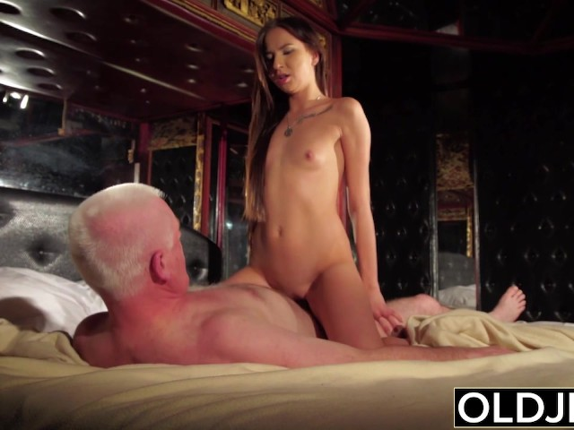 Perfect Teen Sucks Some Dick And Has Sex With Older Man -3991