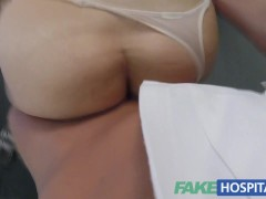 Picture Fake Hospital Hot Italian babe with big tits...