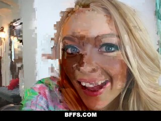 BFFS - Sleepwalking Step-Bro Fucked By Bffs