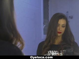 TeamSkeet- Sexy Latin Babe Seduces White Cock