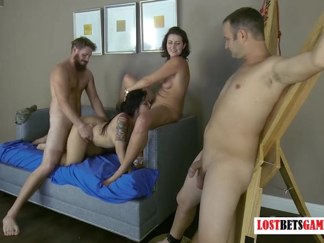 Husband Watches Wife Suck Cock