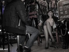 Picture Jeny Smith - naked sales girl meet customers...