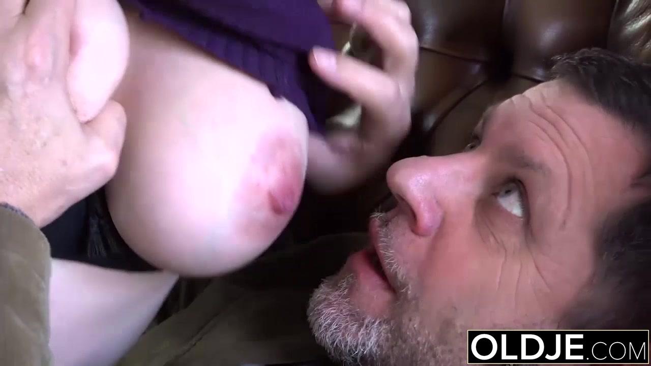 Big titted man