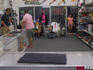 Home run audition in the XXX Pawn Shop with Sexy Latina Mia Martinez (xp15608)