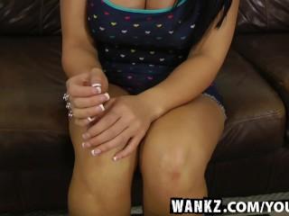 WANKZ- Big Booty Slut Bella Nailed Deep And Hard