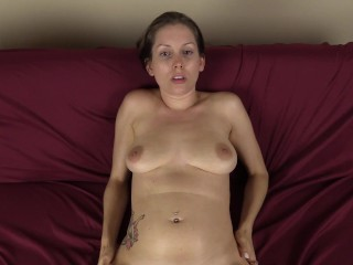YOU fuck her virtually missionary style to a nice big creampie
