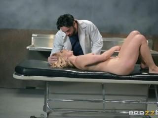 Nurse  Ashley Fires loves rough sex - Brazzers