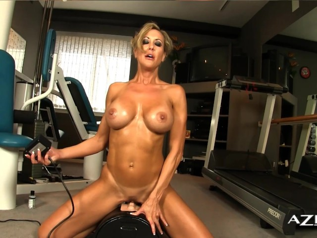 Hot Blonde Milf Young Stud