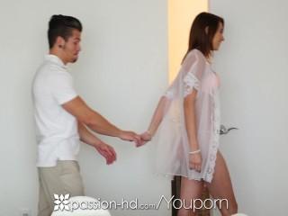 PASSION-HD Innocent massage turns into fuck with CeCe Capella