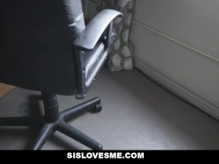 SisLovesMe - Step-Sis Lets Me Fuck Her Ass