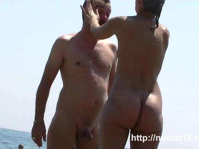 Grosse queue à Nude Beach