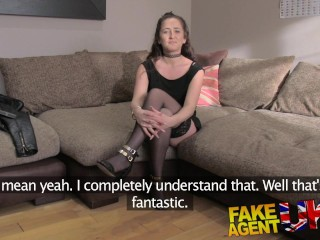 Fake Agent UK Interviewee takes Big butt plug and hard anal fucking to secure job