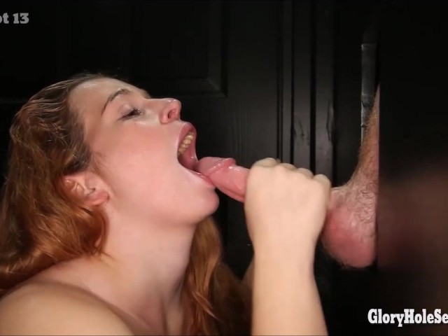 4 Different Gloryhole Girls In The Gloryhole Sucking -9833