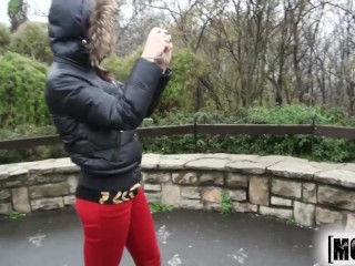 Mofos -  Euro teen gets picked up on the side of the road