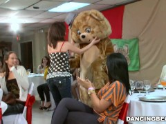 Picture Big Dick Male Strippers and a Fluffy Dancing...