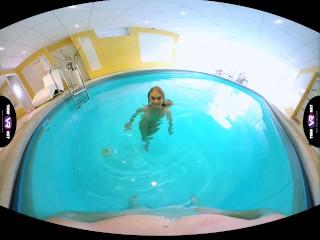 TmwVRnet.com - Nancy A - Slender blonde swimmer fucked