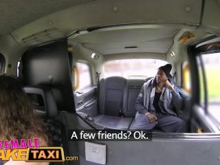 Female Fake Taxi Big black cock fucks horny drivers swollen pussy