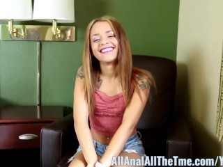 All Anal All The Time Teen Holly Hendrix Gets Anal Pounding!