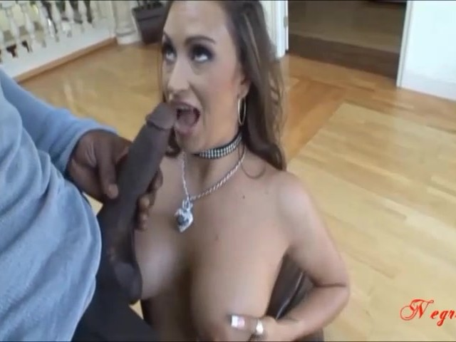 Big Black Dick Cum Ebony Pussy