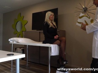 Wifey's Doctor Eats And Fucks Her Tasty Pussy