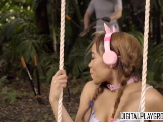 Digital Playground - Full swing,  Jamie Marleigh has some rough sex outside