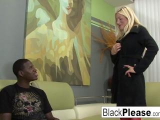 Hard Interracial Anal Fuck