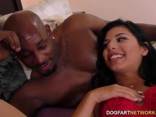 Gina Valentina Handles Big Black Cock - Cuckold Sessions