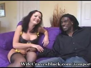 Stacked Wife Fucks Black Cock Good